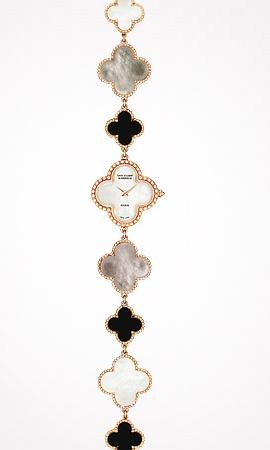 часы Van Cleef & Arpels Alhambra Vintage Bracelet