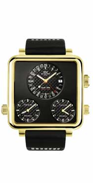 часы Glycine Airman 7 Plaza Mayor gold