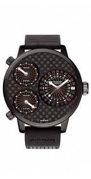 часы Glycine Airman 7 Titanium black DLC