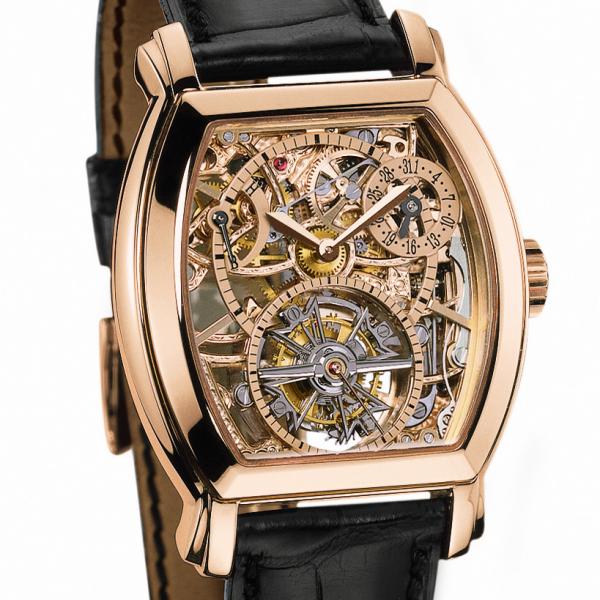 часы Vacheron Constantin Tonneau Tourbillon Squelette
