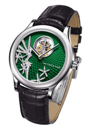 часы Van Cleef & Arpels Midnight Tourbillon Caresse d'Eole