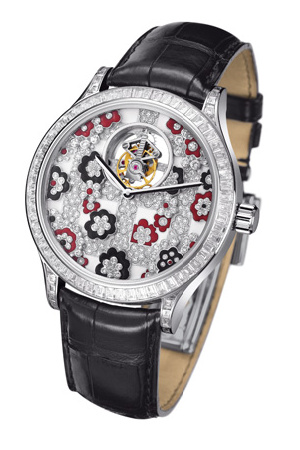 часы Van Cleef & Arpels Midnight Tourbillon Jardins Suspendus