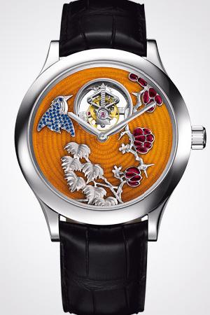часы Van Cleef & Arpels Tourbillon Colibri