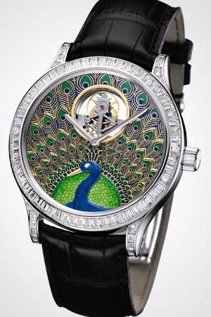 часы Van Cleef & Arpels Tourbillon Paon