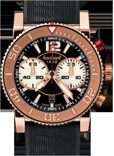 часы Hanhart PRIMUS DIVER'S CHRONOGRAPHDIVER'S CHRONOGRAPH