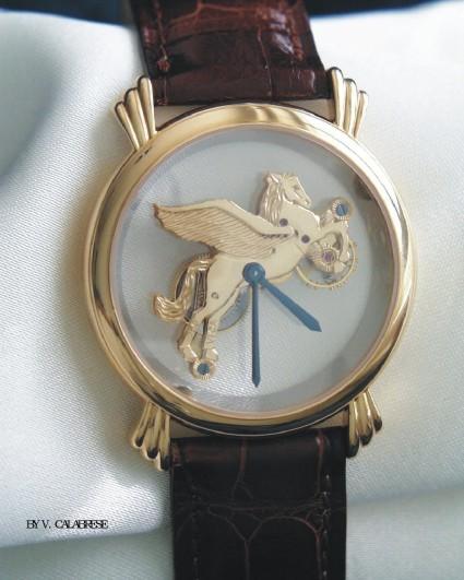часы Vincent Calabrese Symboliques Pegasus