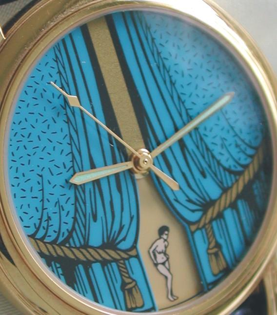 часы Vincent Calabrese Mona Lisa Blue