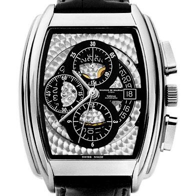 часы Maurice de Mauriac Tonneau XL Chronograph Skeleton