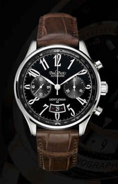 часы Paul Picot Chronodate 42 mm