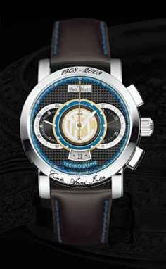 часы Paul Picot F.C. Internazionale 44 mm
