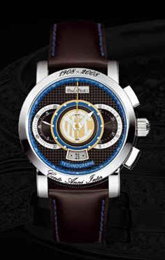 часы Paul Picot F.C. Internazionale 44 mm