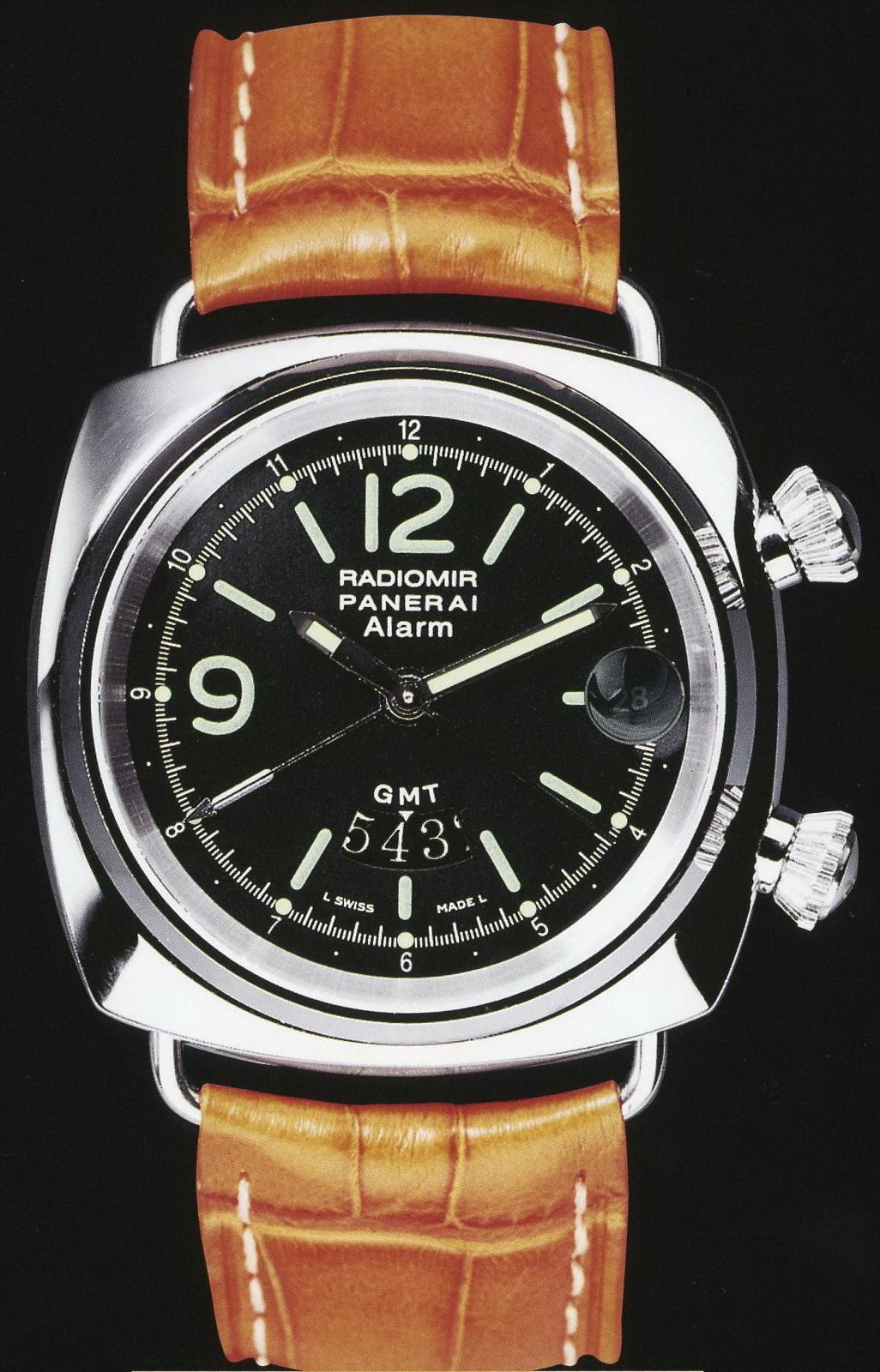 часы Panerai 1999 Special Edition Radiomir GMT/Alarm