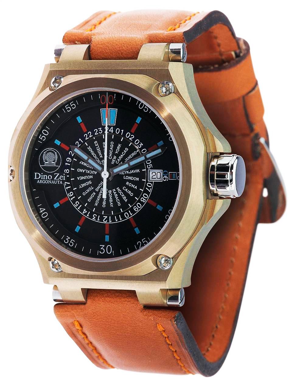 часы Anonimo Argonauta Bronze