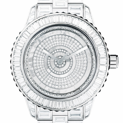 часы Dior Dior Christal Baguette Diamonds