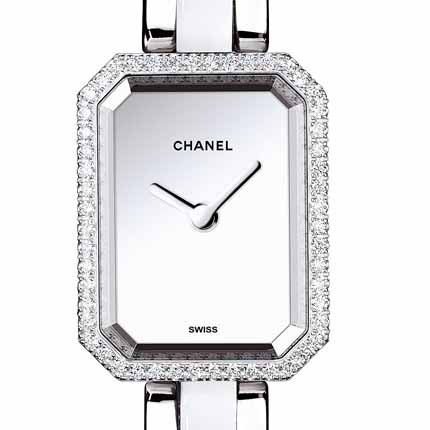 часы Chanel Acier serti diamants
