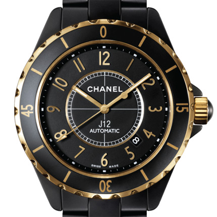 часы Chanel J12 Calibre 3125 Sandblasted