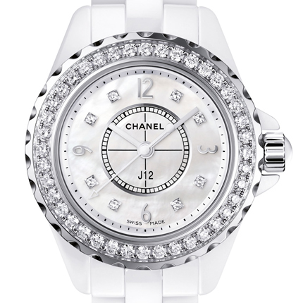 часы Chanel J12 29 MM Diamants