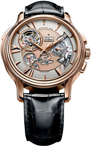 часы Zenith Academy Open Repetition Minutes Mens