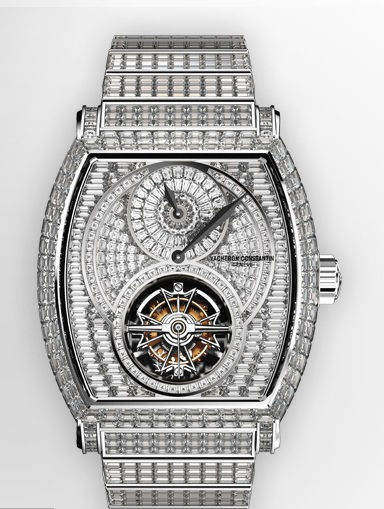 часы Vacheron Constantin Malte Regulator Tourbillon High Jewellery invisible-setting
