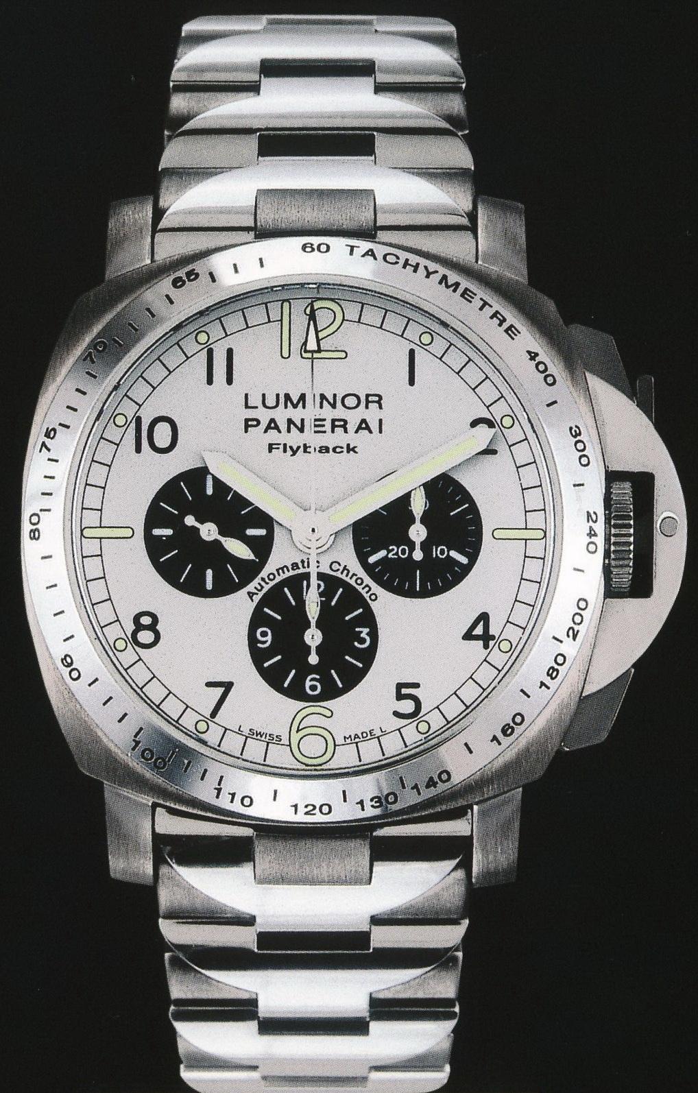 часы Panerai 2000 Special Edition Luminor Chrono Flyback