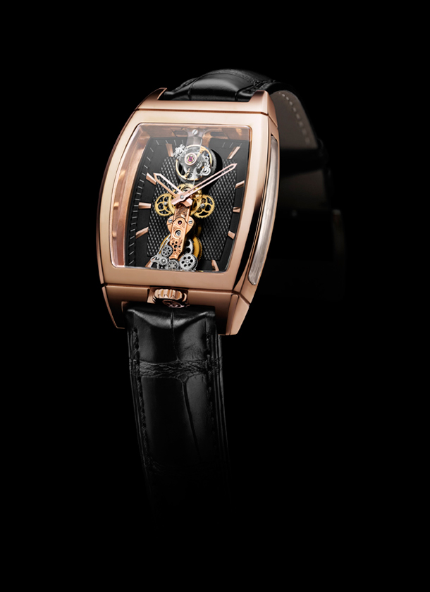 часы Corum Golden Bridge Tourbillon