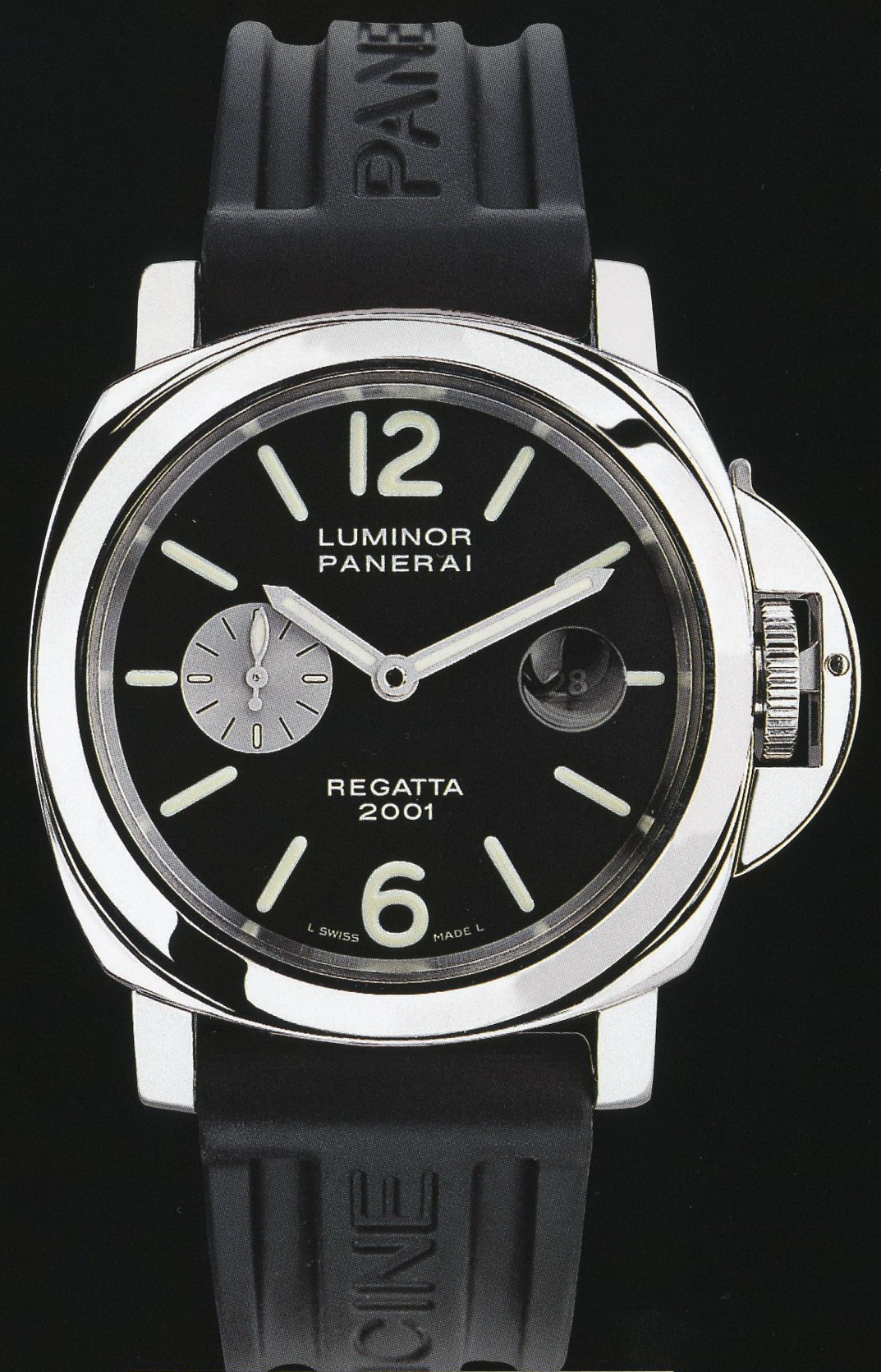 часы Panerai 2001 Special Edition Luminor Marina Regatta 2001