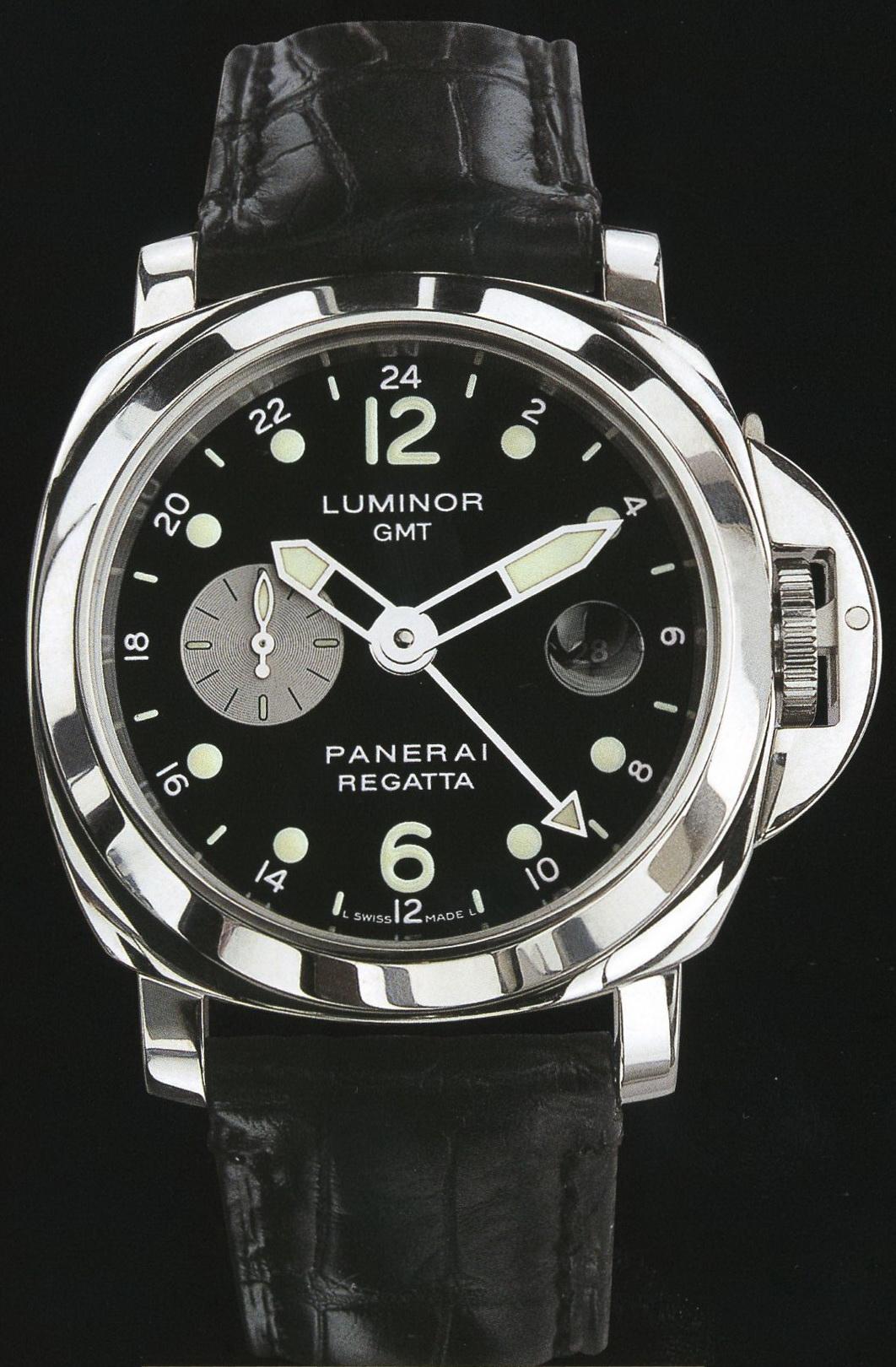 часы Panerai 2002 Special Edition Luminor GMT Regatta 2002