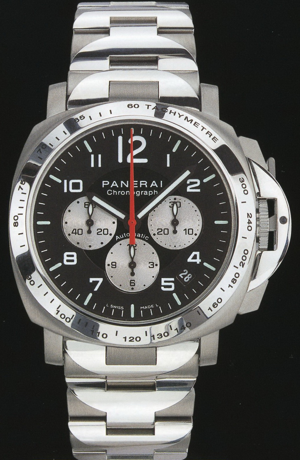 часы Panerai 2002 Special Edition Luminor Chrono for AMG