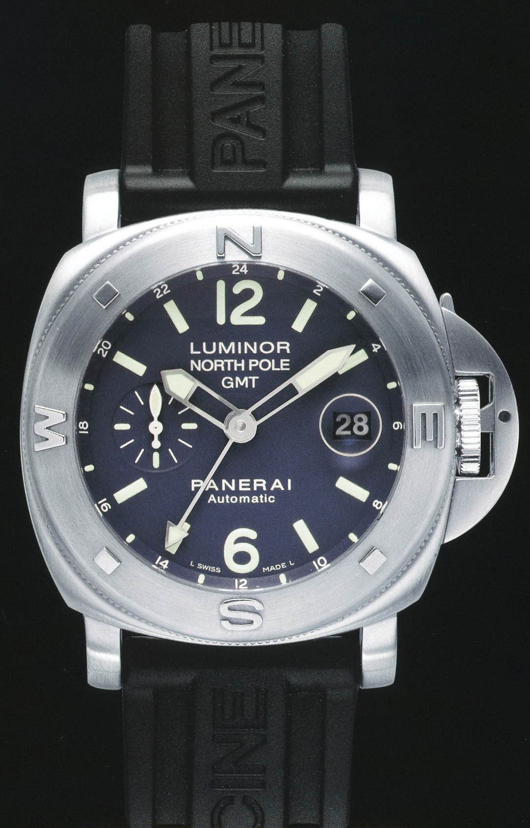 часы Panerai 2006 Special Edition Luminor North Pole GMT