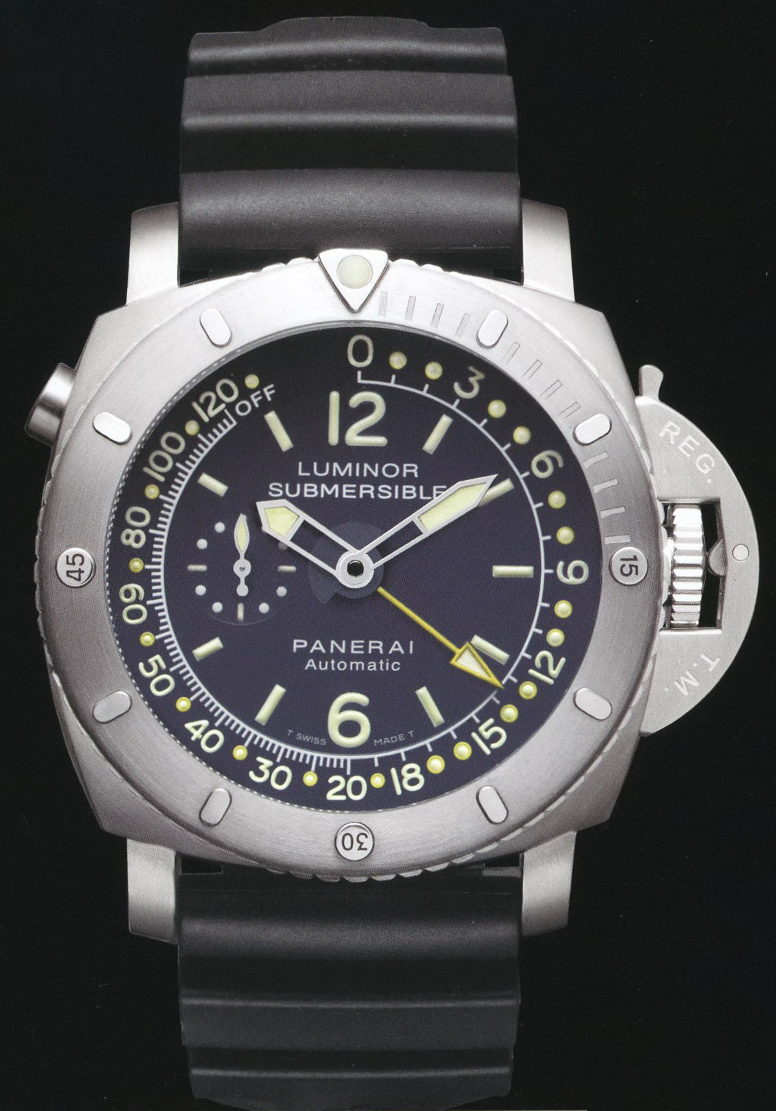 часы Panerai 2008 Special Edition Luminor 1950 Pangaea Submersible Depht Gauge