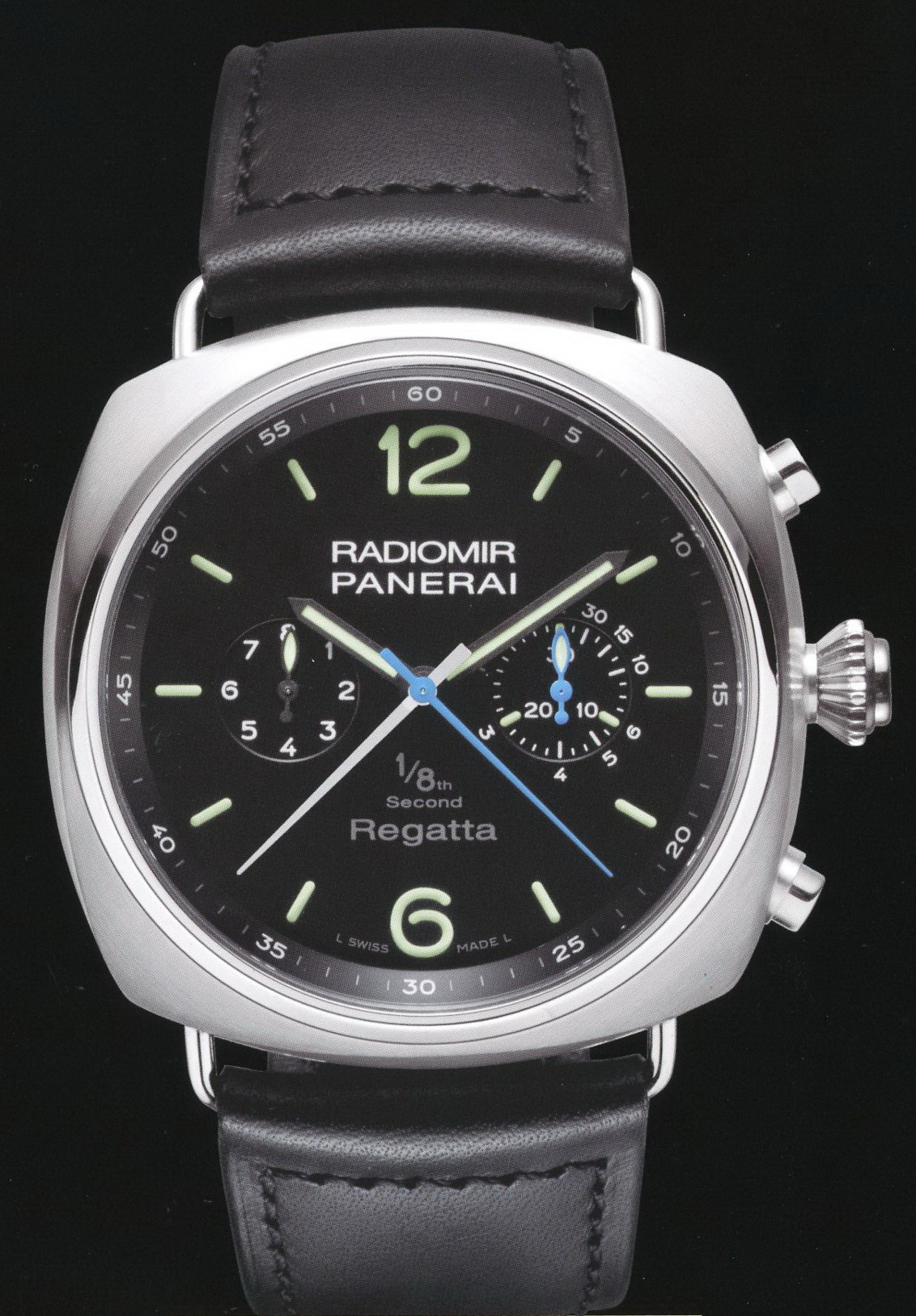 часы Panerai 2010 Special Edition Radiomir Regatta One/Eight Second Titanium
