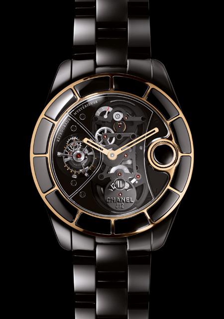 часы Chanel Retrograde Mysterious Rose Gold