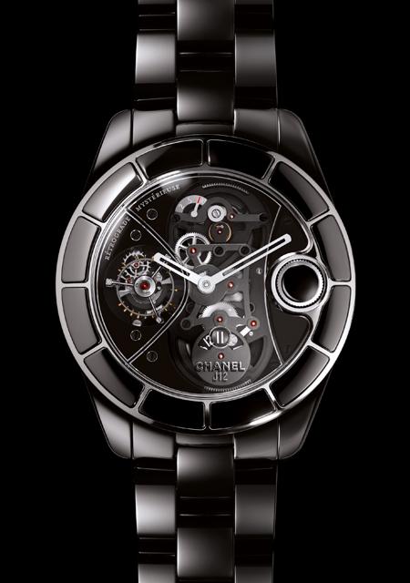 часы Chanel J12 Rétrograde Mystérieuse White Gold