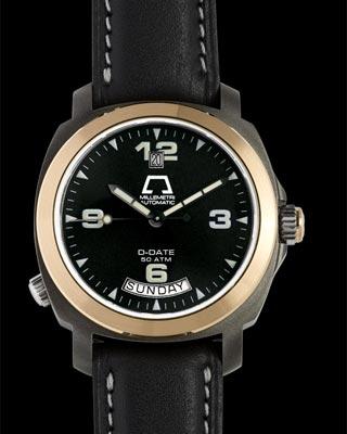 часы Anonimo D-Date II Drass & Gold