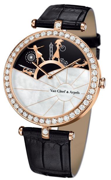 часы Van Cleef & Arpels Journee a Paris