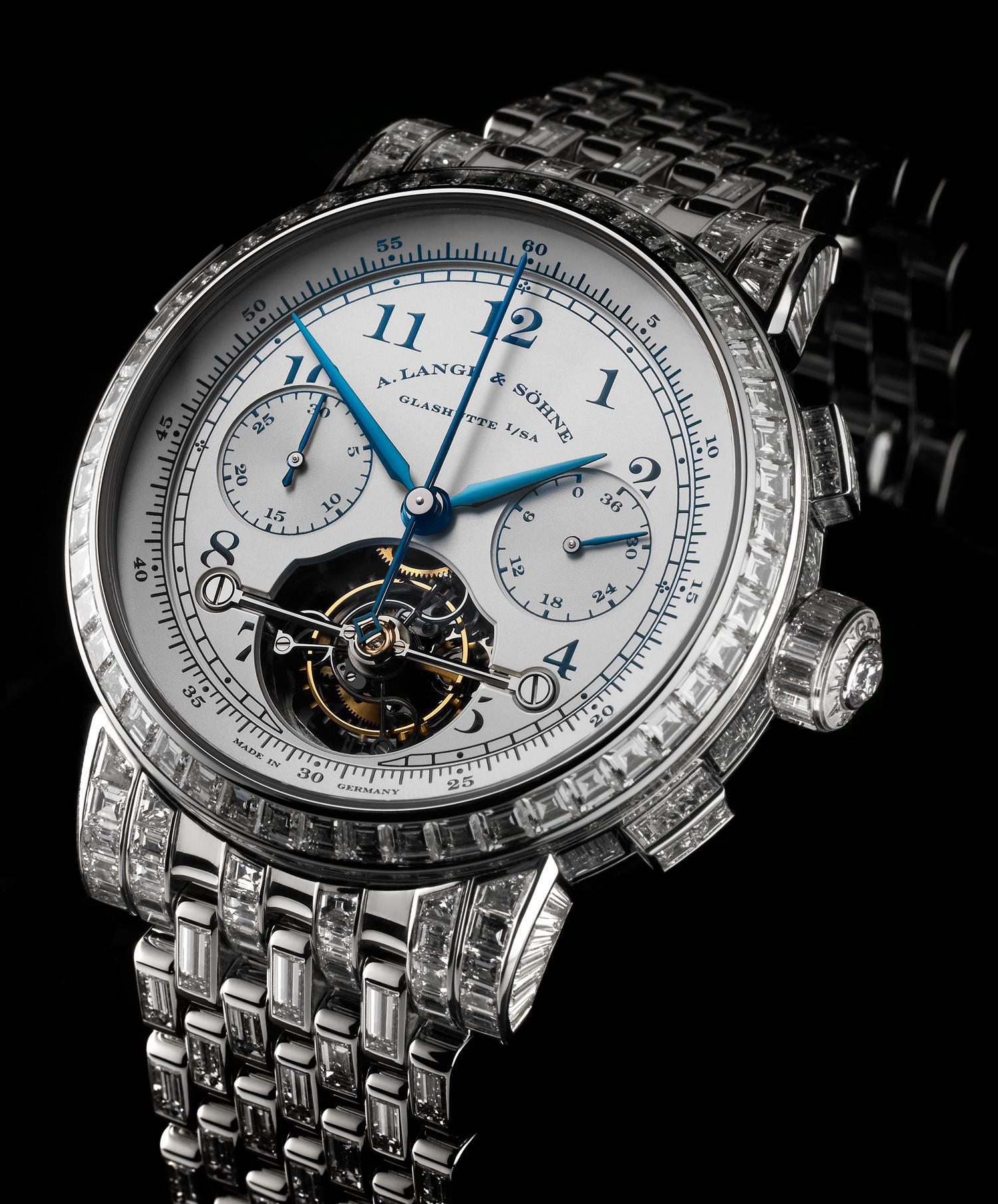 часы A. Lange & Sohne A. Lange & Sohne Dubail Tourbograph «Pour le Merite»