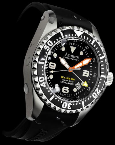 часы Azimuth Sea-Hum GMT