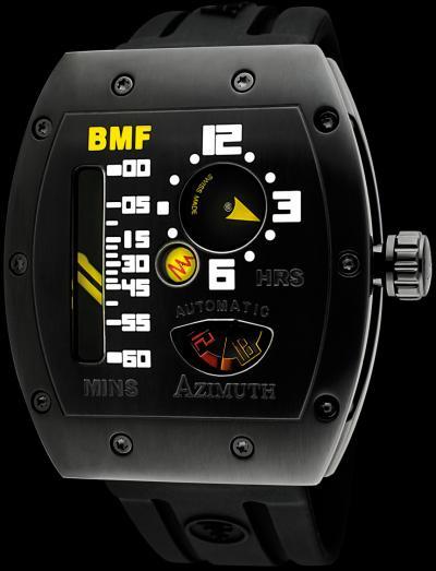 часы Azimuth Gauge Mecha-1 BMF PVD