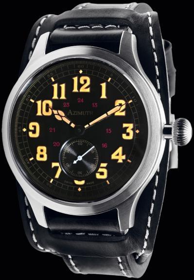 часы Azimuth Bombardier IV