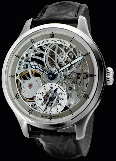 часы Azimuth Officer-Squelette Art Deco