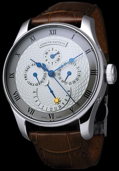 часы Azimuth Calendrier