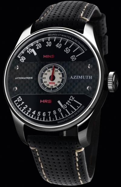 часы Azimuth Heures et Minutes Bi Retrograde