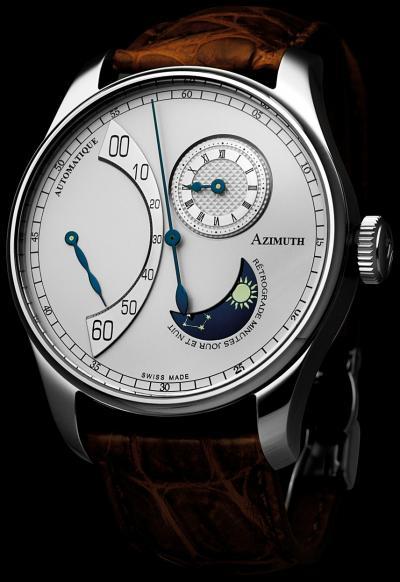 часы Azimuth Retrograde Minutes Jour et Nuit