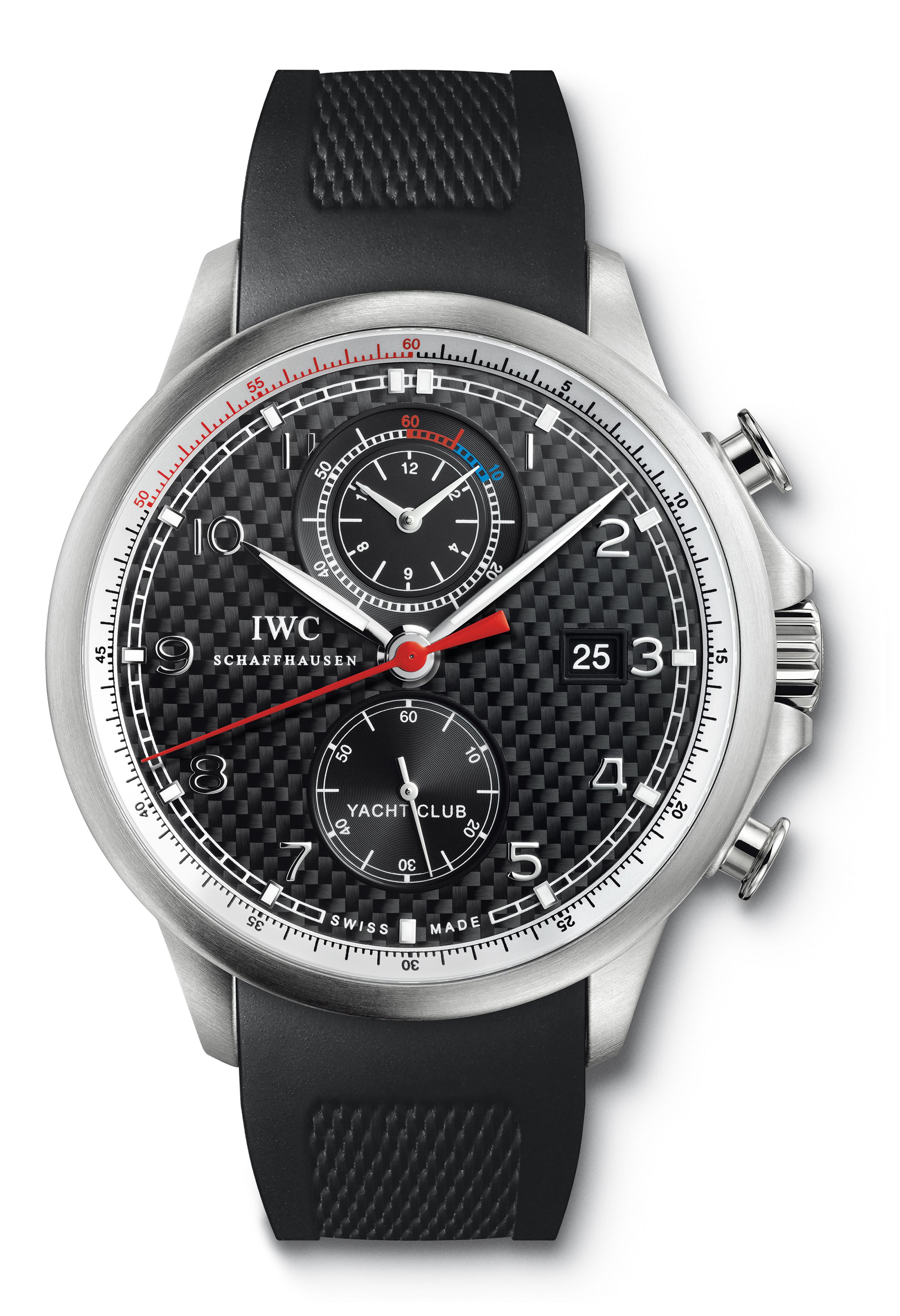 "часы IWC Portuguese Yacht Club Chronograph Edition ""Volvo Ocean Race 2011–2012"""