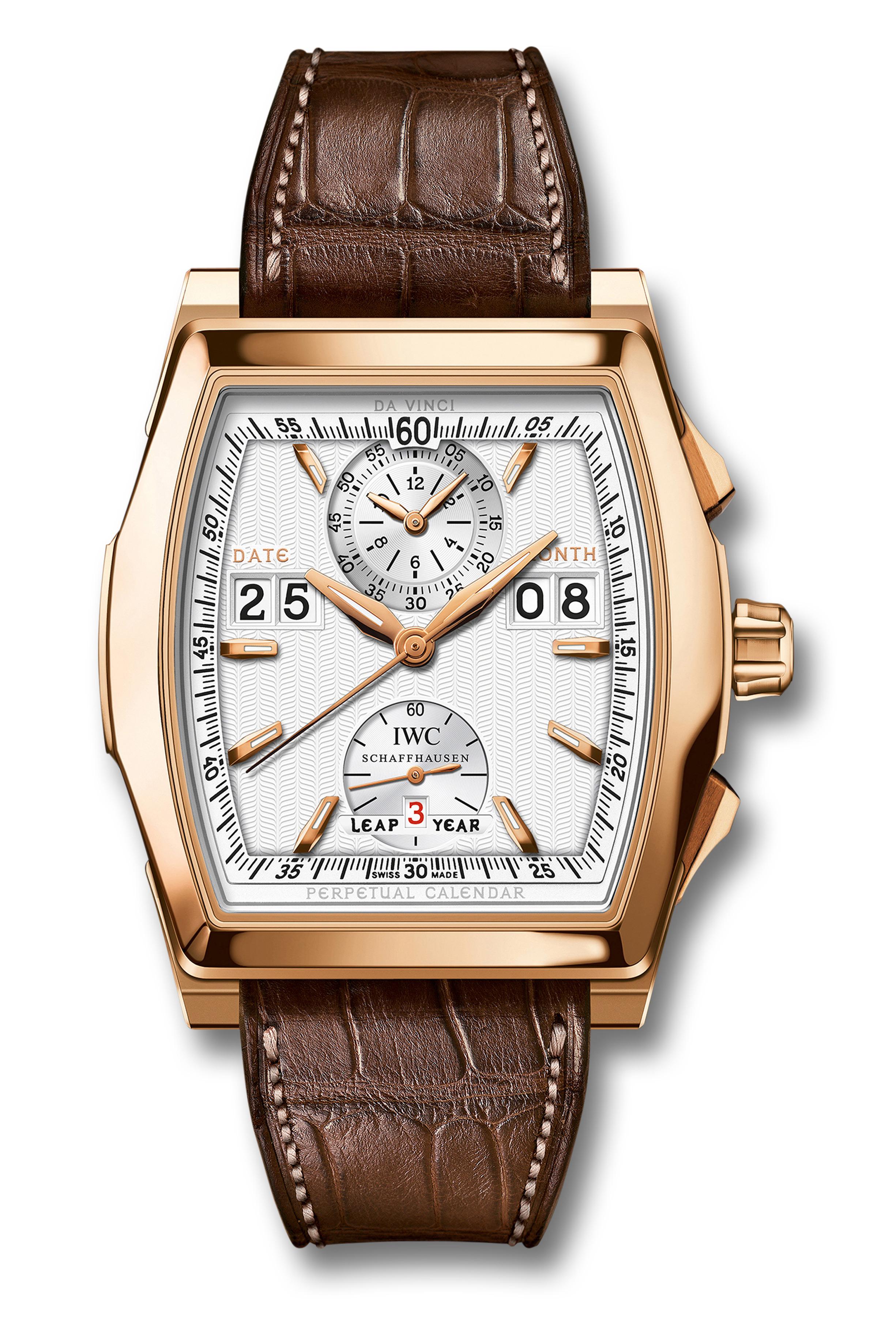 часы IWC Da Vinci Perpetual Calendar Digital Date-Month