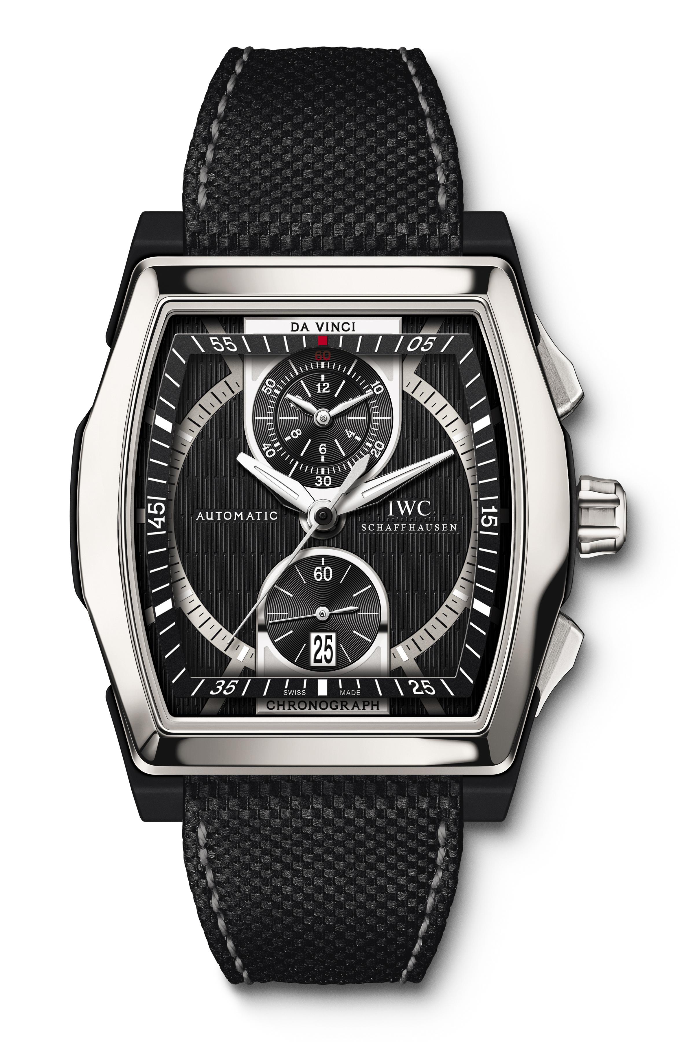 часы IWC Da Vinci Chronograph Ceramic