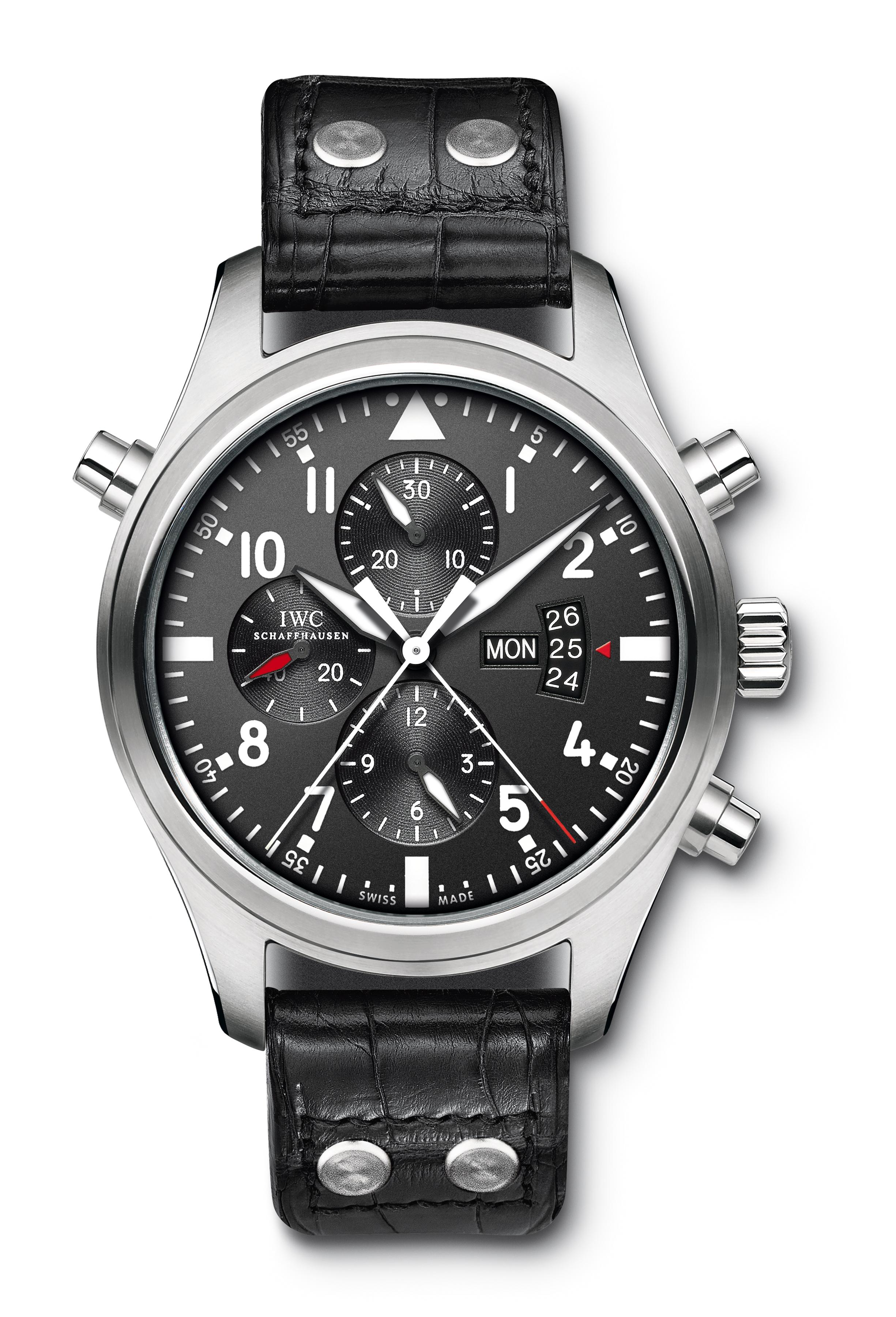 часы IWC Pilot's Watch Double Chronograph