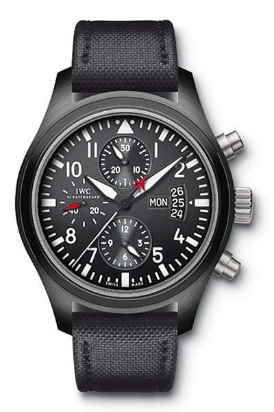 часы IWC Pilot's Watch Double Chronograph Edition TOP GUN