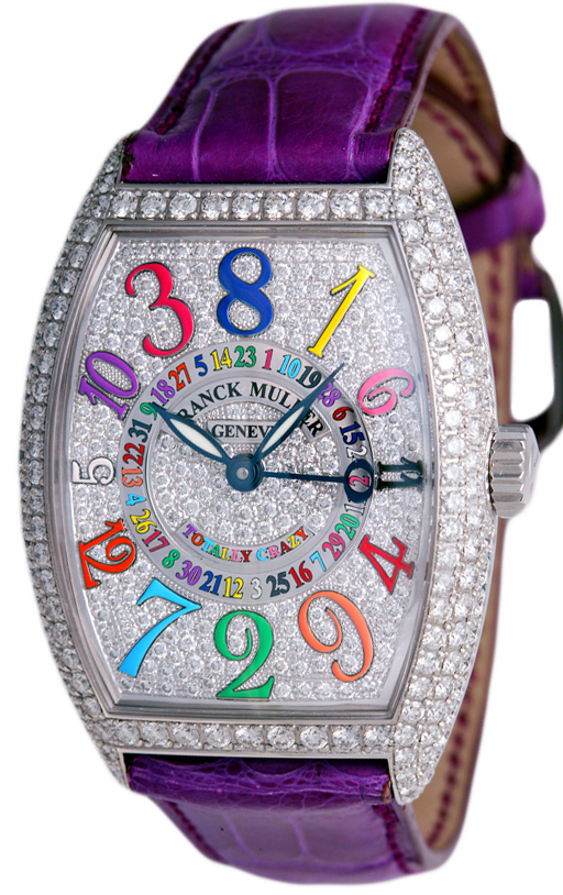 часы Franck Muller Totally Crazy