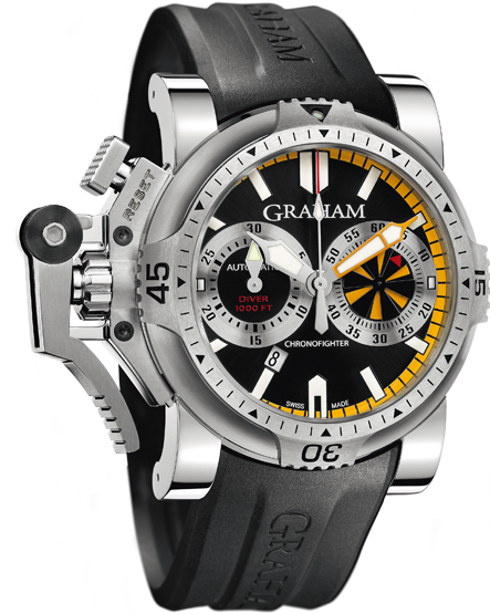 часы Graham Chronofighter Oversize DIVER TURBO